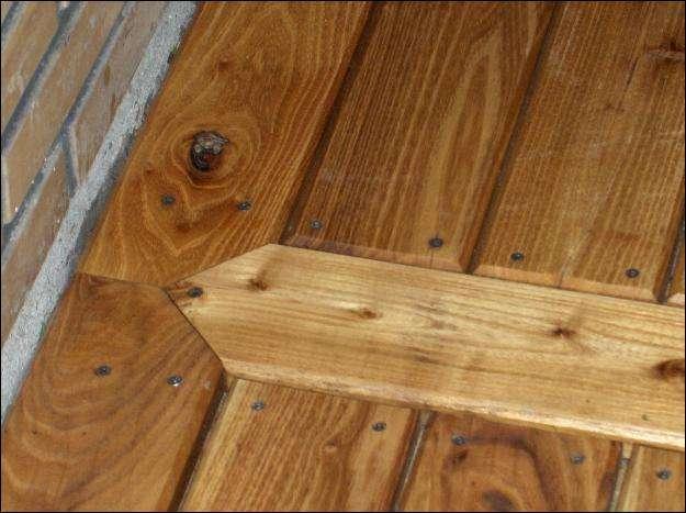 terrasse planker robinie