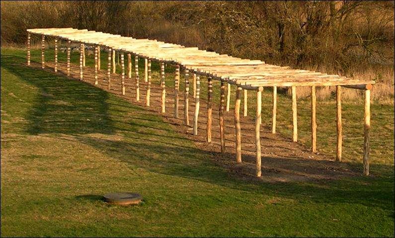 træstolper til pergola