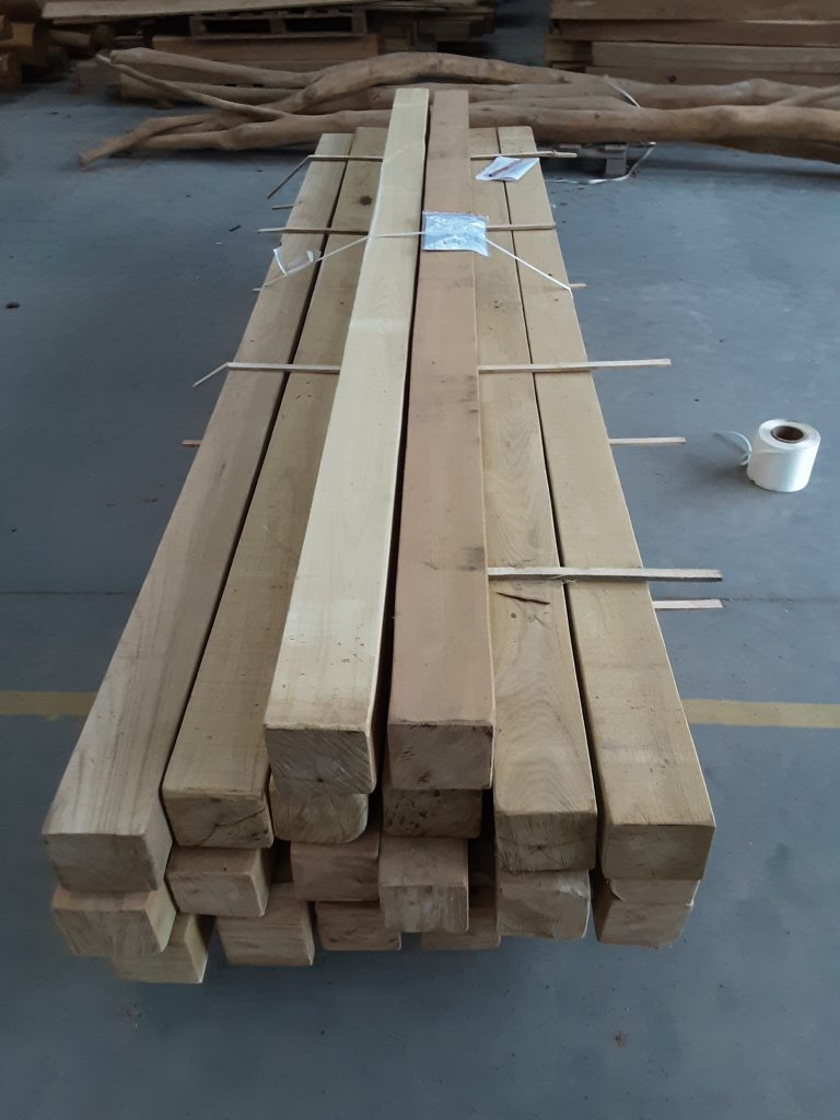Robinie stolper 12,5x12,5