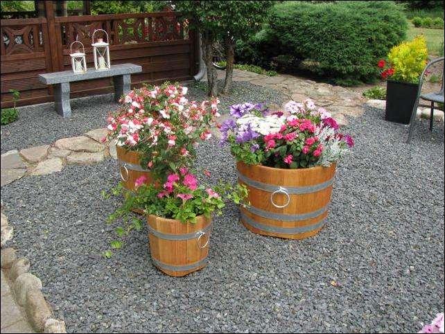 blomsterkummer - plantetønder
